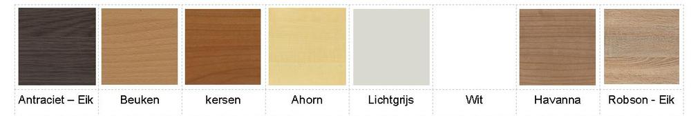 blad kleur bureau